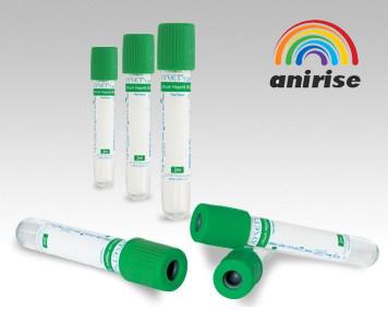 Вакутейнер (Зеленый) Литий-гепарин 36U/Литий-гепарин 72U 2/4 мл.