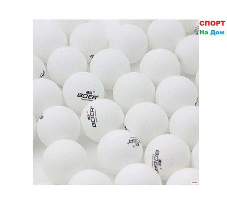 Мячи для настольного тенниса 6 шт. в упаковке (цвет белый), фото 2