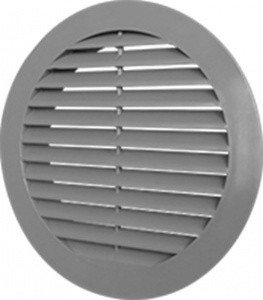РВС РВД 40 Круглая решетка с фланцем диаметром 41 мм, фото 2