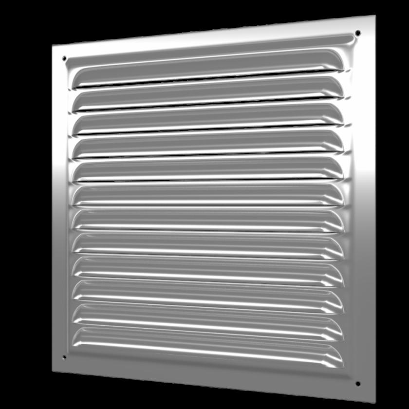 Решетка металлическая 250*250 оцинкованная