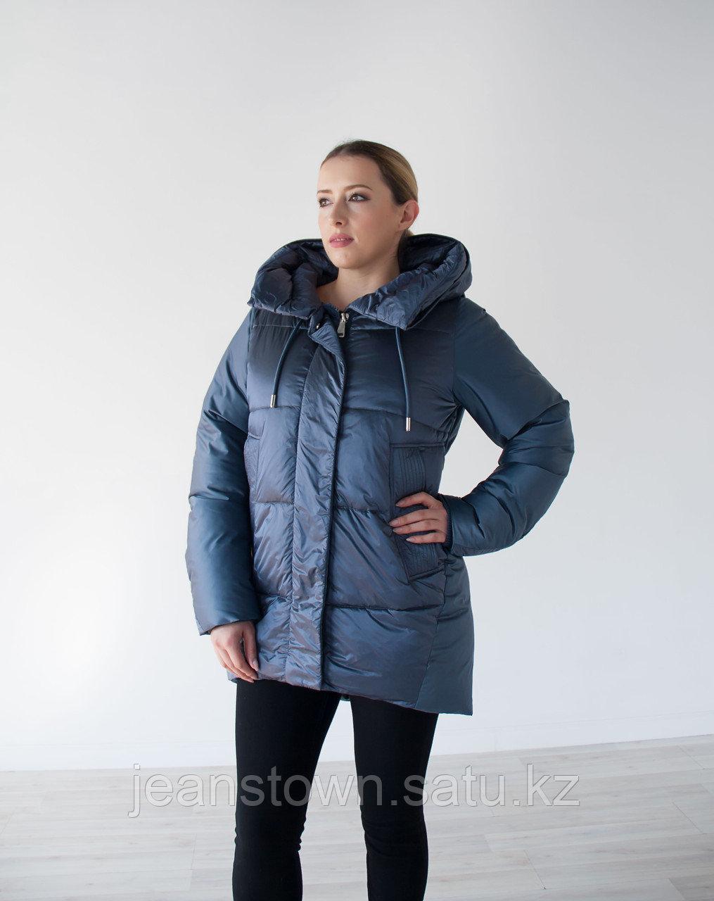 Куртка женская зимняя Evacana сиреневая