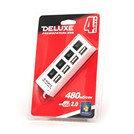 DELUXE DUH4004WH USB Расширитель 4 Порта , фото 2
