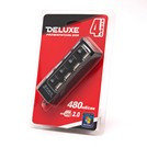 DELUXE DUH4004BK USB Расширитель 4 Порта , фото 2