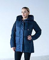 Куртка женская зимняя Evacana синяя