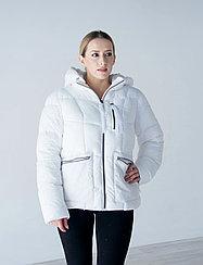 Куртка женская зимняя Snowimage короткая, белая