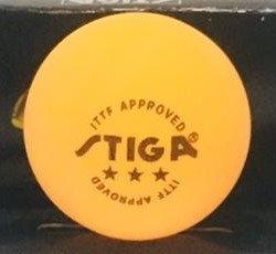 Мячи для настольного тенниса Stiga Cup 6 шт. в упаковке (цвет оранжевый), фото 2