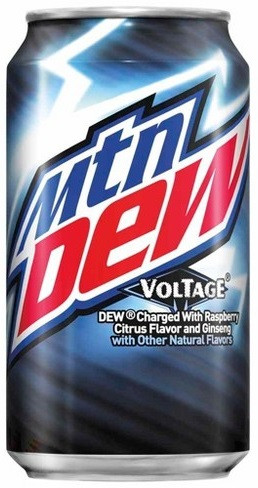 Mountain Dew Voltage Raspbery Citrus0,355 литра США