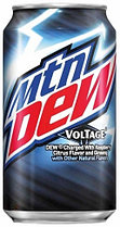 Mountain Dew Voltage Raspbery Citrus0,355 литра США