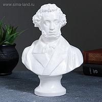 Бюст Пушкин большой белый 22см