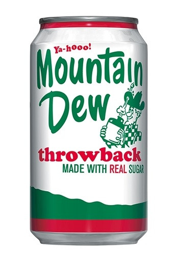 Mountain Dew Throwback 0,355 литра США (12шт-упак)