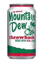 Mountain Dew Throwback 0,355 литра США (12шт-упак)
