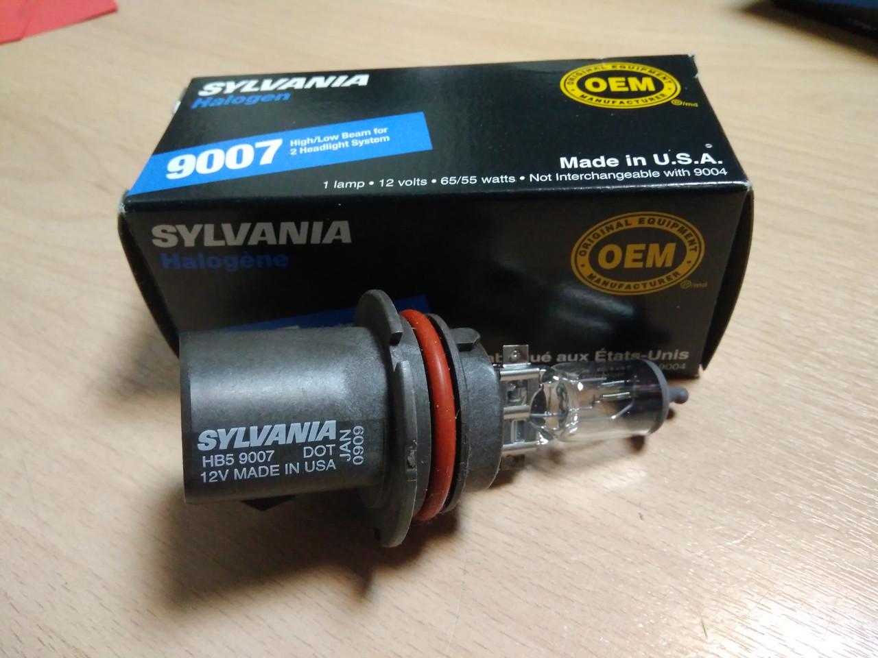 Галогеновая лампа OSRAM SYLVANIA HB5 9007 65/55W 12V PX29t 1лампа