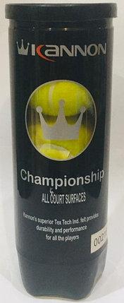 Мячи для большого тенниса Kannon 3 шт., фото 2