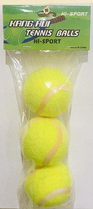 Мячи для большого тенниса Kang Hui 3 шт., фото 2