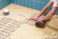 Монтаж электрических теплых полов