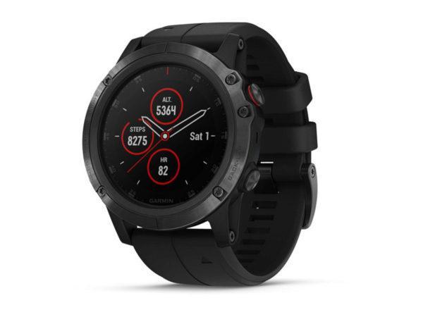 Спортивные часы Garmin Fenix 5x Plus Sapphire Black GPS