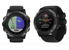 Спортивные часы Garmin Fenix 5x Plus Sapphire Black GPS, фото 2