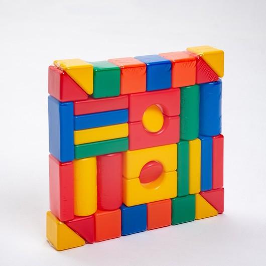 КрошкаЯ Набор кубиков Строительный, 36 элемент 6 х 6 см