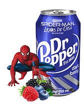 Dr.Pepper Dark Berry Темная Ягода Spider Man 0,355 литра