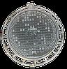 Люк чугунный средний (В125), 600/800, Высота 8см., Вес 39кг.