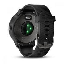Спортивные часы Garmin Vivoactive 3 черные с черным ремешком, фото 2