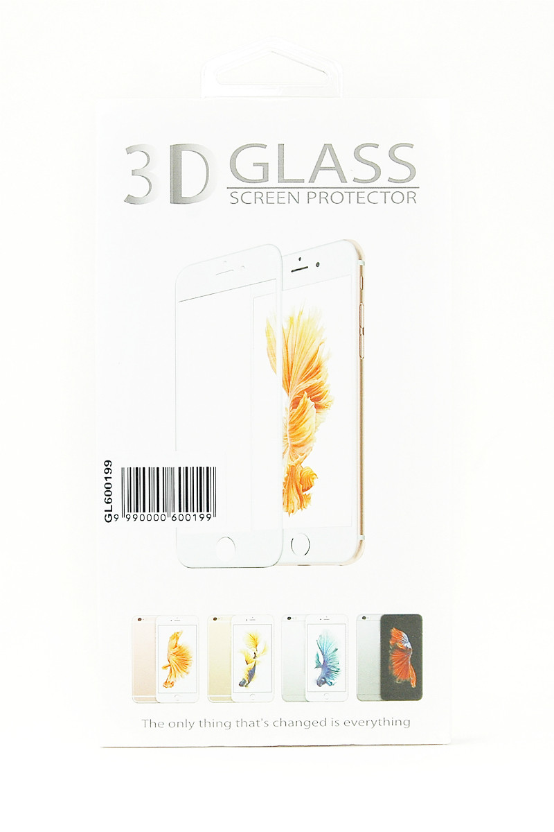 Защитное стекло 3D PowerPlant для Apple iPhone 7 Black