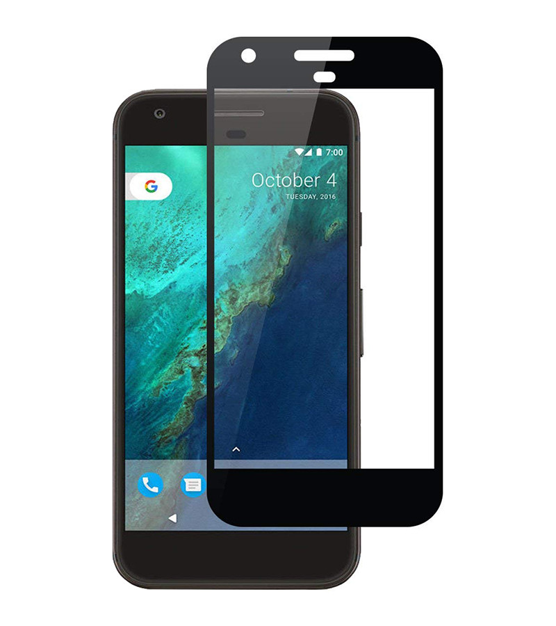 Защитное стекло Full screen PowerPlant для Google Pixel XL, Black