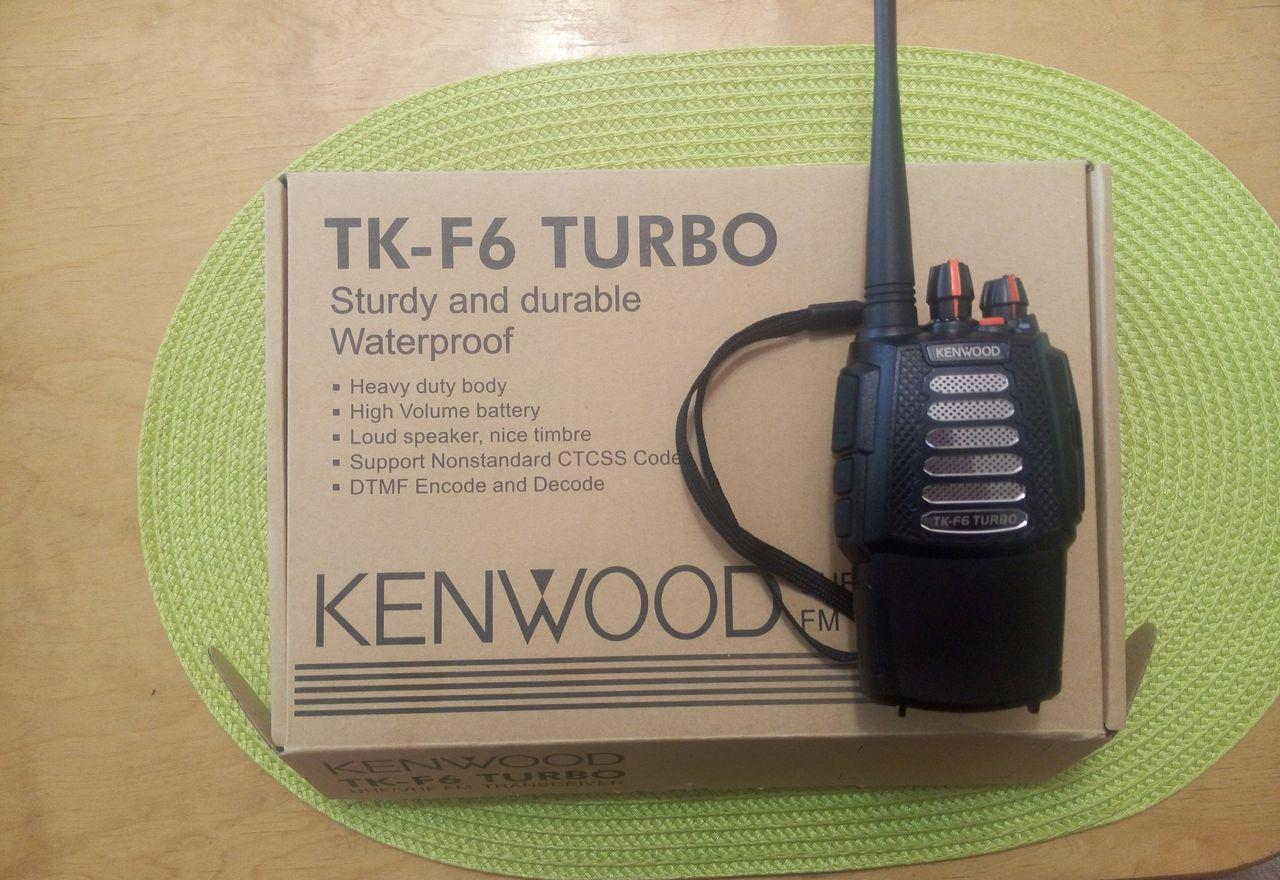Kenwood tk-f6 turbo
