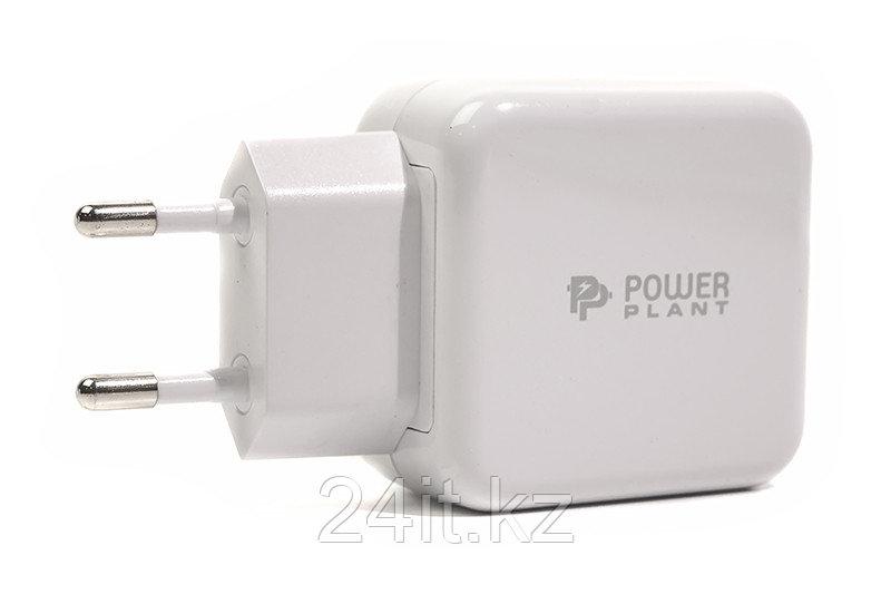 Сетевое зарядное  устройство PowerPlant W-250 USB QC 3.0: 220V, 3A