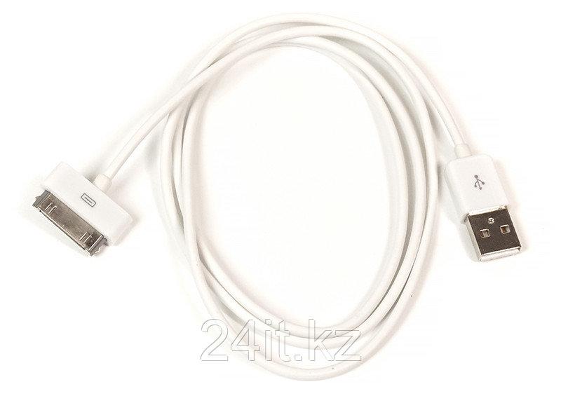 Kабель PowerPlant USB - 30pin (4/4s), 1м