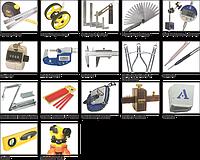 Измерительные инструменты и уровни / Measuring tools and Levels