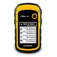 GPS навигатор Garmin eTrex 10 Yellow