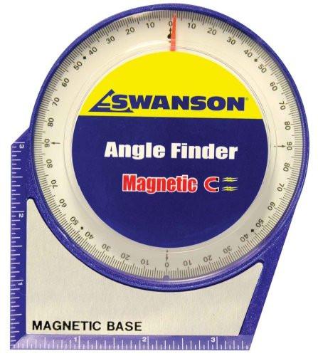 Уклономер Swanson Angle Finder, стрелочный, на магнитном основании