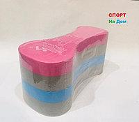 Колобашка для плавания (цвет розовый,серый, синий)
