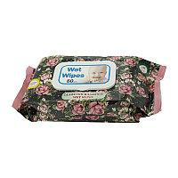 Влажные салфетки с ароматом Розы Aypack 80 шт