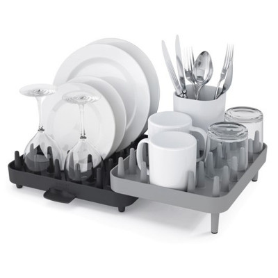 Сушилка для посуды Joseph Joseph Connect™, серая (85035)