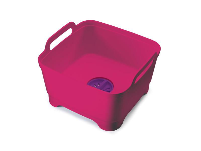 Контейнер для раковины Joseph Joseph Wash&Drain™, красный (85060)