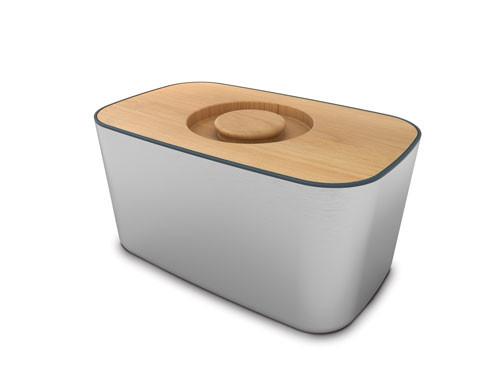 Хлебница с деревянной крышкой Joseph Joseph Bread Bin™ 100 Collection 95007
