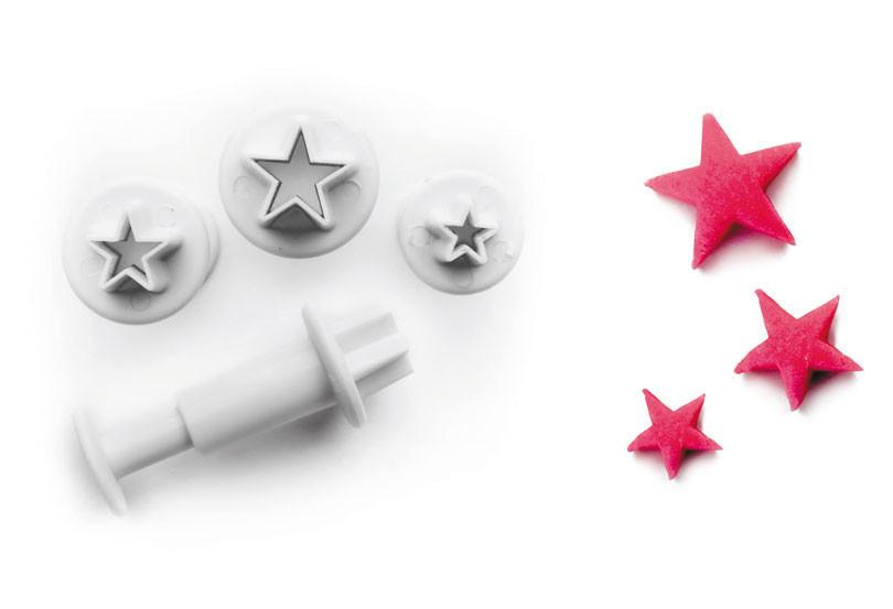 Плунжер для создания декоративных элементов 3шт.0,7-1,0-1,2 см Ibili Испания 788403