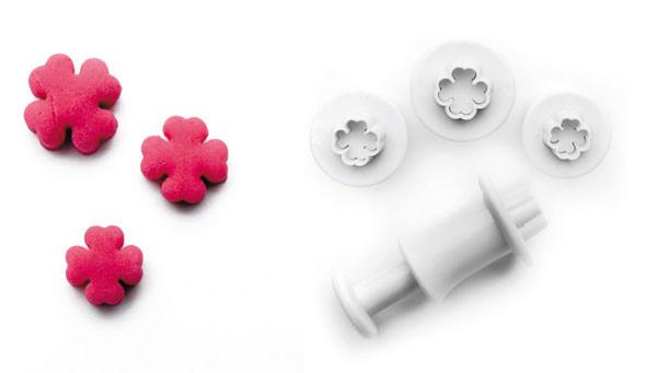 Плунжер для создания декоративных элементов 3 шт. 0,9-1,0-1,2 см Ibili Испания 788401