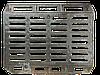 Люк тяжелый водоприёмный с запорным устройством, 820/700, нагрузка 40т., Высота 13см., Вес 74кг.