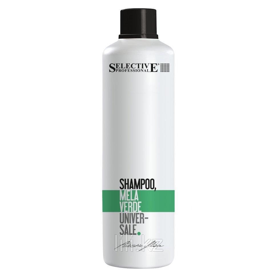 Шампунь Зелёное яблоко, для всех типов волос SELECTIVE PROFESSIONAL MELLA VERDE 1000 мл.