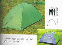 Палатка туристическая трёхместная SY-007 200*200*135