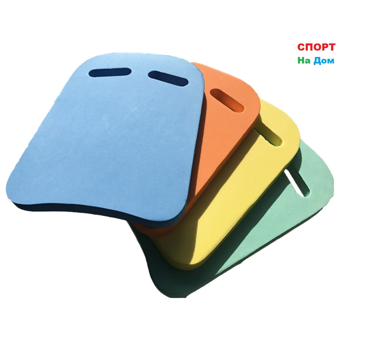 Доска для плавания Kickboard (цвет зеленый с желтым)