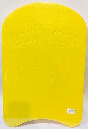 Доска для плавания Kickboard (цвет зеленый с желтым), фото 2