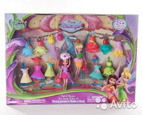 Disney Fairies, Фея Диснея Набор из 2 кукол с аксессуарами