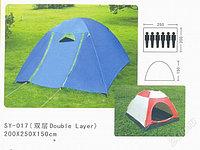 Палатка туристическая шестиместная SY-017 150*220*250
