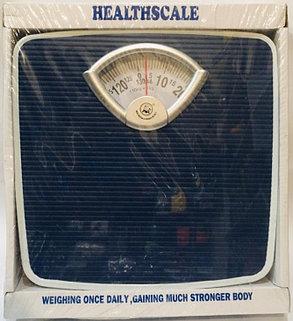 Весы напольные механические Health Scale (цвет синий), фото 2