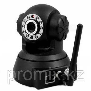 WiFi IP камера видеонаблюдения черная