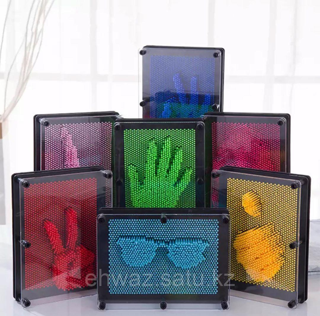 Игрушки 3D антистресс клон отпечаток из штырьков